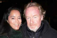 Cassandra Seidenfeld and Ridley Scott